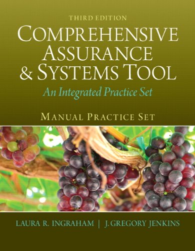 Manual Practice Set for Comprehensive Assurance & Systems Tool (CAST) (3rd Edition)