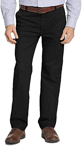IZOD Men's Big & Tall Big and Tall Advantage Performance Flat Front Straight Fit Chino Pant