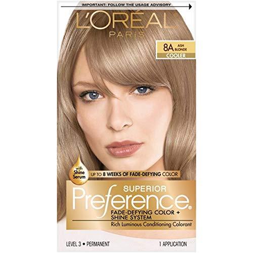 Pref Haircol 8a Size 1ct L'Oreal Preference Hair Color Ash Blonde #8a