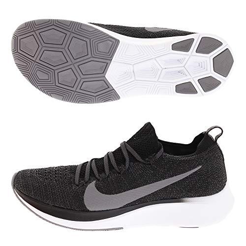 Nike W Zoom Fly Flyknit, Scarpe da Fitness Donna, Multicolore (Black/Gunsmoke/White 081), 38 EU