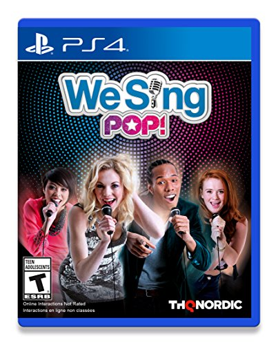 We Sing Pop! PS4 Solus Edition