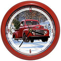 Herrschners Ford Holiday Clock Gift