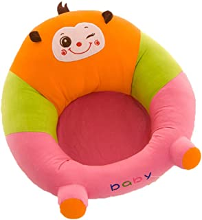 Baby Sofa Learn Sitting Chair Baby Sitting Chair Sofa Infant Support Seat Learning Sit Chair Soft Cushion Cartoon Animal Shaped Safety Seats Dining Chair Kids Plush Pillow Toys for Toldder Infant