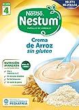 Nestlé Papillas NESTUM - Cereales para bebé, crema de arroz sin gluten - 3 x 250 g - Total: 750 g