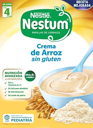 Nestlé Papillas NESTUM Cereales para bebé - 3 papillas de 250g (Total 750g)