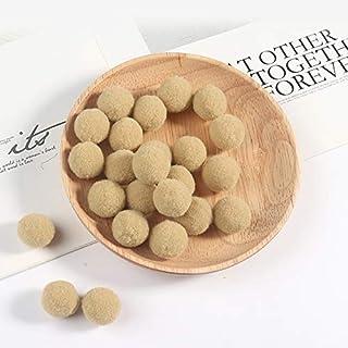 Worldoor Premium 400 PCS 15mm Khaki Color Pom Poms, Craft Pom Pom Balls, Colorful Pompoms for DIY Creative Crafts Decorati...