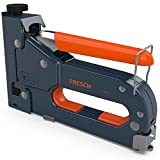 Presch Staple Gun with Staples - 600pcs. Heavy Duty Stapler for Wood, Cable