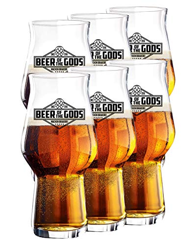 Wacken Brauerei - Vaso de Cerveza Craftmaster One - Beer of The Gods -