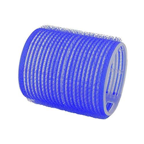 COIPRO Haftwickler XL 60 mm, 6 Stück Durchmesser: 51 mm blau, dunkelblau Jumbo - 6er Beutel, 6 Stück