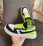 JJZXLQ Zapatos de Bricolaje Ganchillo Hecho a Mano Hombres Mujeres Unisex Zapatillas Altas, Zapatillas de casa de Ganchillo para Mujer, Zapatillas De Casa De Color Clásico Zapatillas,g