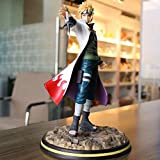 Zqcay Small Clay Sculpture Resonance Series <span class='highlight'><span class='highlight'>Bofeng</span></span> Shuimen 4Th Generation Hokage Living Room And Bedroom Decorations Gifts For Relatives And Friendspvc Anime Figures