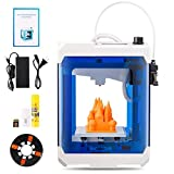 Image: HopeWant Desktop 3D Printer STEAM for design Mini 3D Printer Kit with 250g PLA Filament TF Card High Accuracy 3D Print