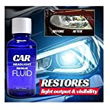 Best Headlight Cleaners - Car Headlight Repair Fluid Kit,Cleaner and Restorer-Quick Headlight Review