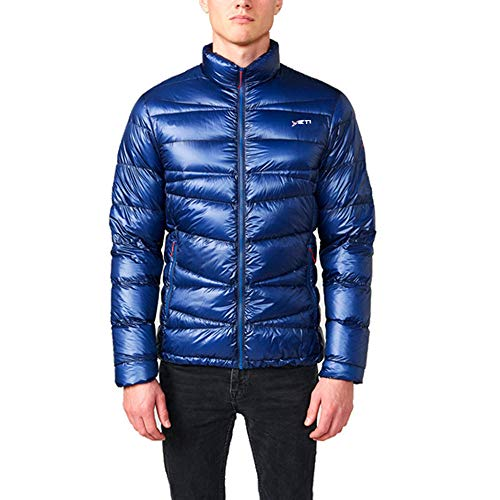 YETI Strato M's Ultralight Down Jacket Herren Daunenjacke Jacke, Estate Blue, Größe M