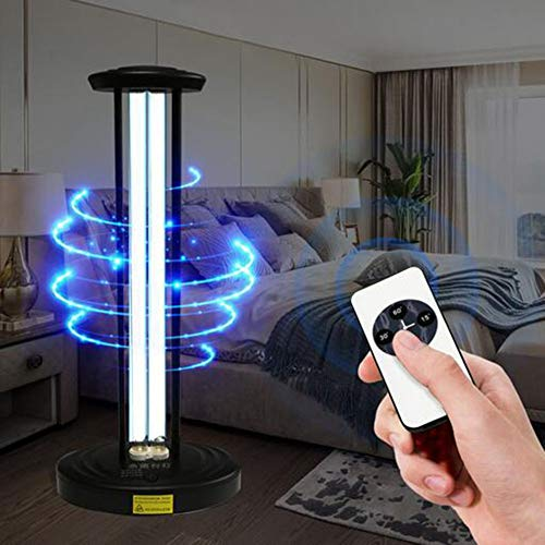 UV-kiemdodende timer Tafellamp Desinfectie-sterilisator Reinigt luchtreiniger UVC-lamp,38w ozone free third gear