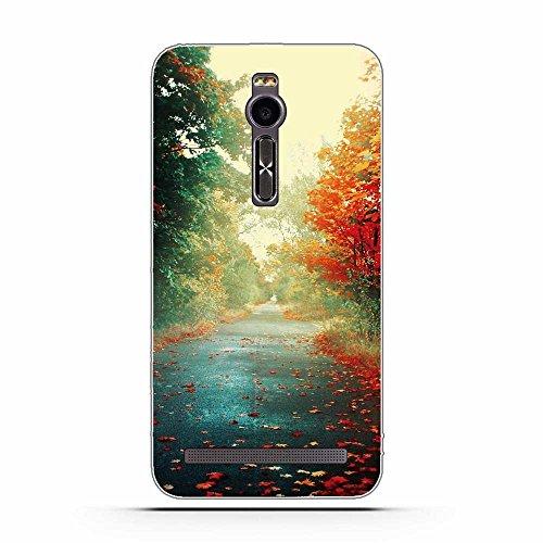 FUBAODA für Asus Zenfone 2 ZE551ML Hülle, Schöne & romantische Landschaft Serie TPU Case Schutzhülle Silikon Case für Asus Zenfone 2 ZE551ML