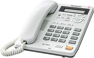 Panasonic KX-TS620 Corded Single Line Telephone , White