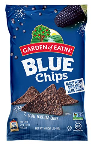 Garden of Eatin' Blue Corn Tortilla Chips, 16 oz. (Pack of 12) (Packaging May Vary)
