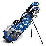 Callaway Golf Xj Junior Golf Set, Level 2, 6 Piece Set, Right Hand, Blue