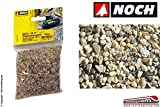 Noch - 09216 - Sacchetto Sassolini Arenaria Grana Media 250 Gr Ho-TT-N-Z...
