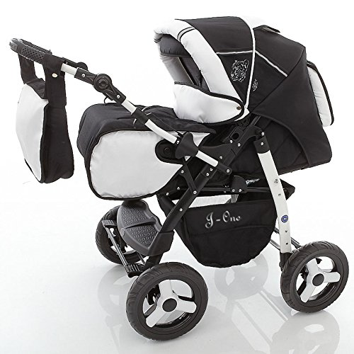 Chilly Kids J1 Combi Pushchair Set - Winter (Gate, Regenjas, Muggennet) 01 sale & pepe