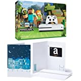 Xbox One S 500GB Console - Minecraft Bundle + $30 Amazon Gift Card