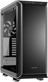 be quiet! Dark Base Pro 900 Carcasa de Ordenador Desktop Black,Silver - Caja de Ordenador (Desktop, PC, ABS Synthetics,Aluminium,Steel,Tempered Glass, ATX,EATX,Mini-ITX,XL-ATX, Black,Silver, 18.5 cm)