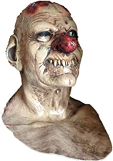LUHUAISH AU Halloween Tricky Face Mask Zombie Zombie Mummy Alien Red Nose Monster