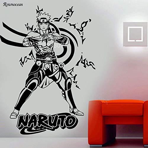 Tianpengyuanshuai muursticker Anime Manga muursticker van vinyl voor kinderkamer, school, kleuterschool, huisdecoratie, afneembaar