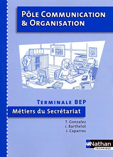 Pôle communication organisation term bep secrétariat eleve
