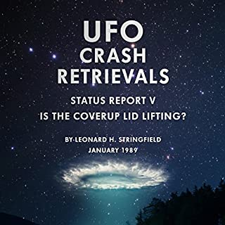 UFO Crash Retrievals - Status Report V audiobook cover art