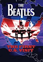 The Beatles - The First U.S. Visit - Poster - Rare - New - Meet the Beatles - Second Album - Something New - Beatles '65 - John Lennon - Paul Mccartney - George Harrison - Ringo Starr
