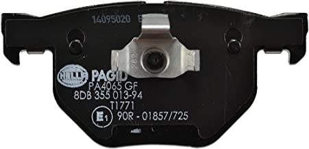 Hella Pagid 355013941 DISC BRAKE PAD