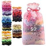 50 Pcs Premium Velvet Hair