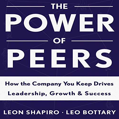 The Power of Peers audiobook cover art