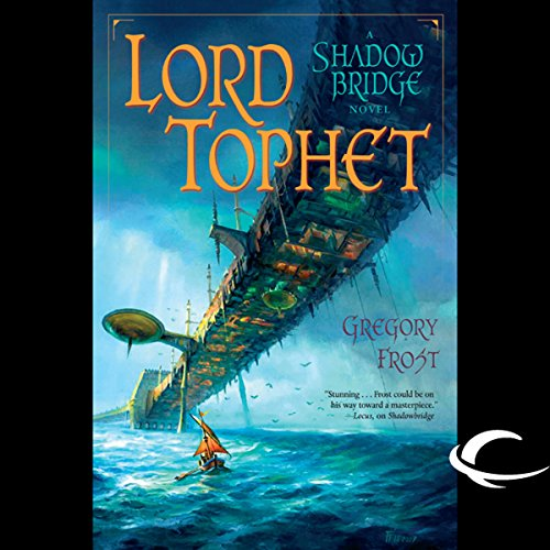 Lord Tophet audiobook cover art