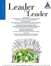 Leader to Leader (LTL), Volume 85, Summer 2017 (J-B Single Issue Leader to Leader)