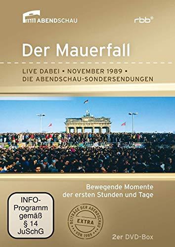 Der Mauerfall - Die Original-Sondersendung zum Mauerfall (2 DVDs)