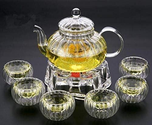 Year-end annual account supreme HUAXUE Teapot Japanese, 600ml Elegant Glass Resistant Heat
