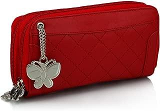 Butterflies Wallet (Red)(BNS 2089)