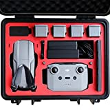 2020 VCUTECH Mavic Air 2 Waterproof Hard Carrying Case Compatible with DJI Mavic Air 2 Drone/Fly More Combo & Drone Accessories, Top Grade Foam Insert, Anti-Crash with Full Protection (Black) (Renewed)
