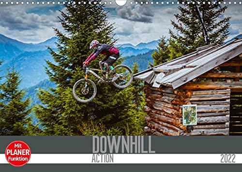 Downhill Action (Wandkalender 2022 DIN A3 quer)