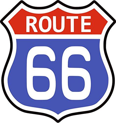 TENNER.LONDON Route 66 - Tela para planchar a la serigrafía, lavable a máquina