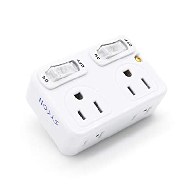 SYCON Adapter Outlet Extender with Switch Wall ...