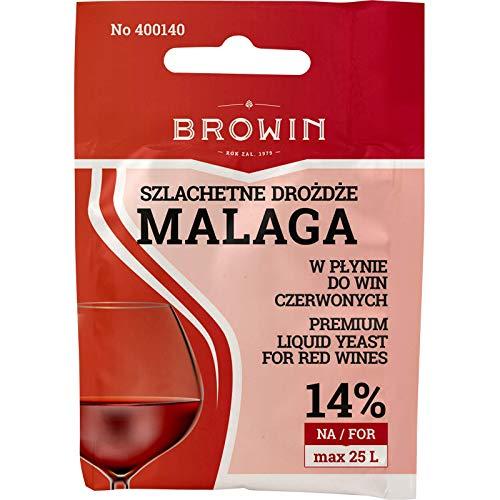 Vloeibare Wijngist - Malaga 20ml | BROWIN | Gist voor Wijn | Gist | Wijn maken gist