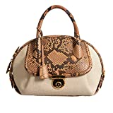 Salvatore Ferragamo Women's Python Multi-Color Handbag Shoulder Bag