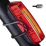 Cocopa Bike Tail Light, Bike Lights USB Rechargeable Rear Bike Light Quick Release
