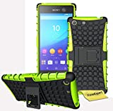 FoneExpert® Sony Xperia M5 - Etui Housse Coque ShockProof Robuste Impact Armure Hybride Béquille...