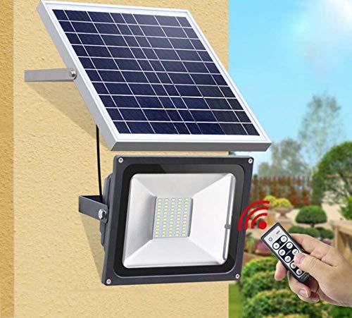 JKL Gevoerde solarverlichting buitenshuis, intelligente afstandsbediening, olarstraatlantaarn, super heldere waterdichte lampen, IP65, tuinverlichting voor huishouden, buitenwandverlichting met afstandsbediening, creatief 20 leds.
