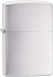 Zippo Unisex – Volwassenen Chrome Brushed Regular Classic Artikelnr.: 60.000.804-uggested Retail: Euro 29,95, zilver, M